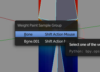 Shift + Action Mouse