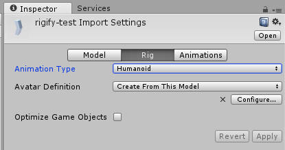 import to unity